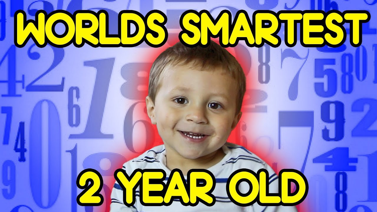 Download Worlds Smartest 2 Year Old SOLVING HARD MATH PROBLEMS with Cupcake Prize