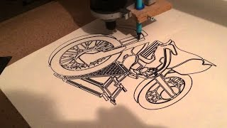 Drawing With CNC Machine