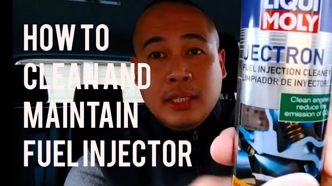 VW/Audi/Porsche Car Fuel Injector Cleaning Maintenance With Liqui Moly  Jectron Fuel Injector Cleaner