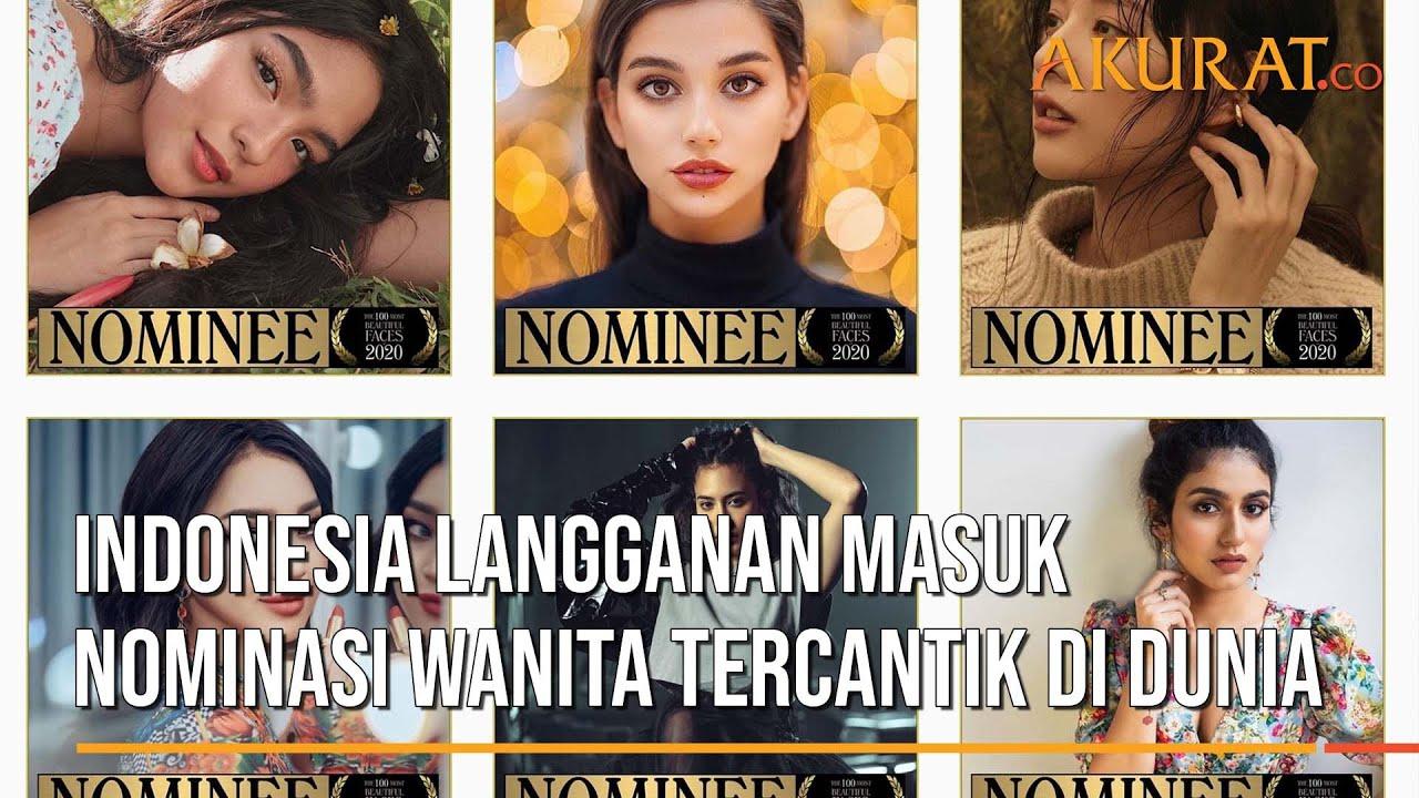 Indonesia Langganan Masuk Nominasi Wanita Tercantik Di Dunia Youtube