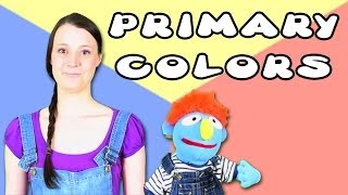 Primary Colors For Kindergarten