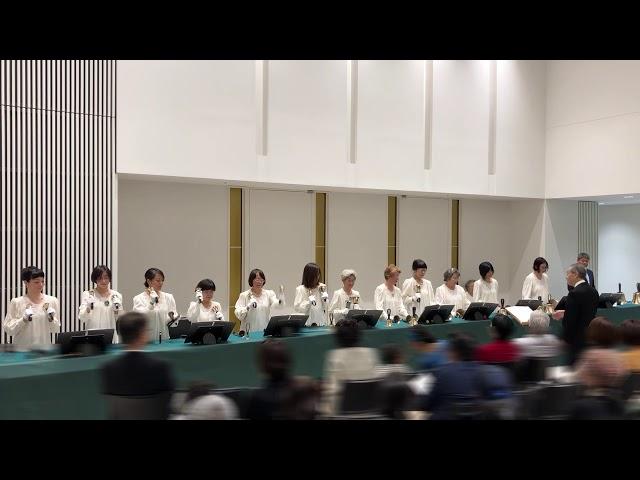 """ハンドベル Handbell, """"ドラえもんのうた"""", Kobe YMCA Bell-choir, 2019 Dec"""