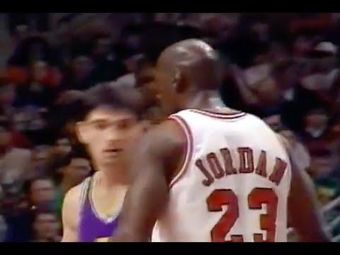 Michael Jordan Defense on John Stockton - 1995/96 Season
