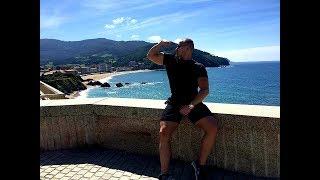 Bodybuilder trip to the FRANCE - Biarritz and SPAIN - San Sebastian