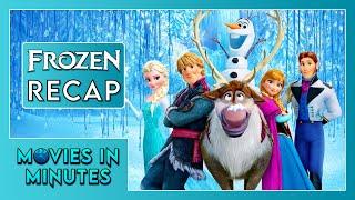 FROZEN in 4 minutes (Movie Recap)