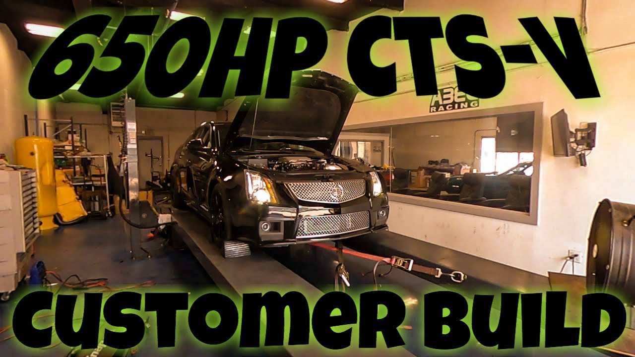 650HP CTS-V Build from 187 Customs. This Thing Is A Beast!