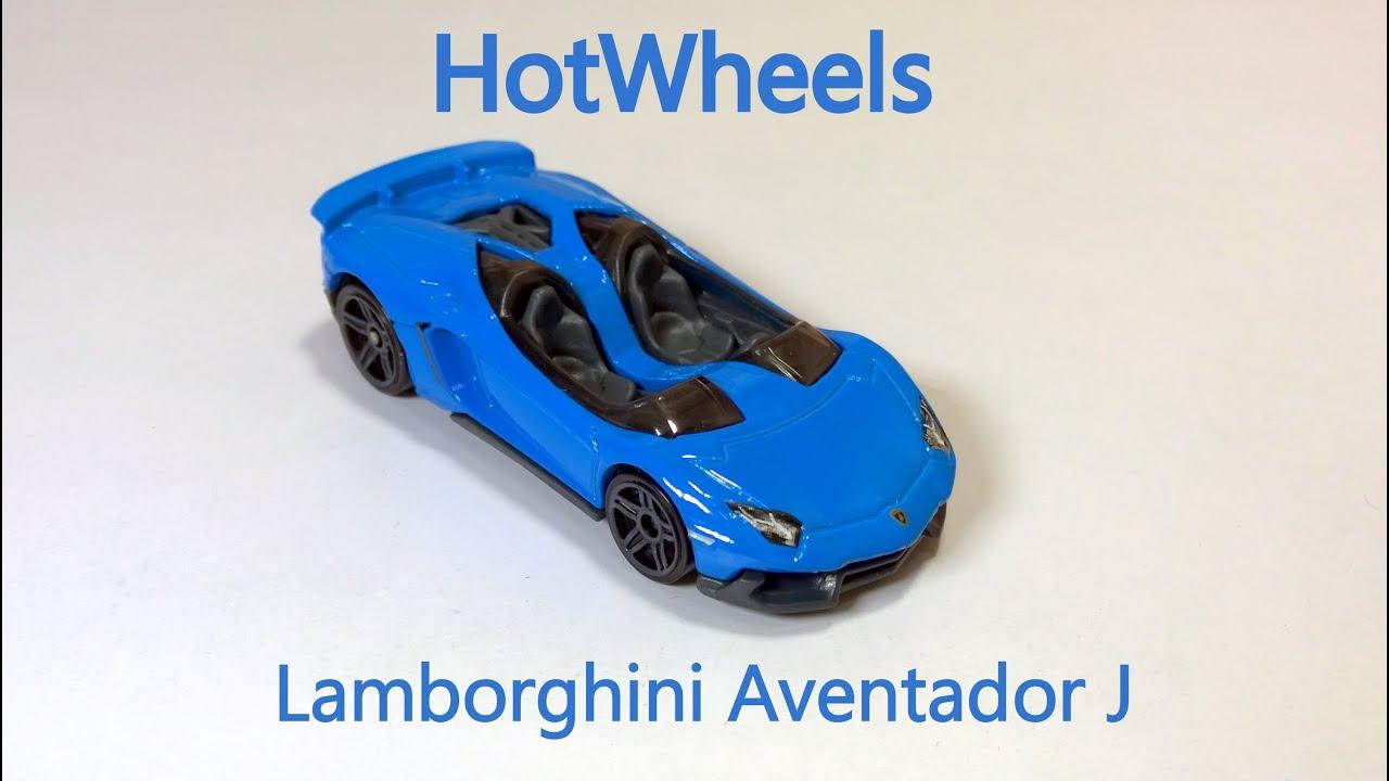 Superieur Hotwheels Lamborghini Aventador J Blue Unboxing U0026 Overview   YouTube
