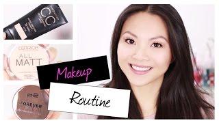 Drogerie Makeup ROUTINE für Schule, Uni, Büro, Mamis | Mamiseelen Thumbnail