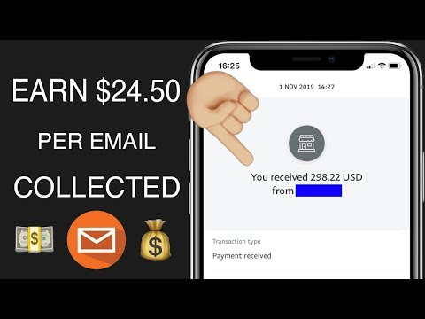 EARN $24.50 PER COLLECTED EMAIL * MAKE MONEY ONLINE *