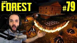 The Forest #79   LA BASE PERFECTA ACABADA!!   Gameplay Español