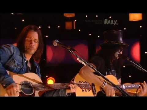 Back From Cali - Slash & Myles Kennedy - Rare Acoustic - MAX Sessions 2010 - Best Quality 480p