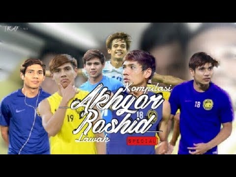 Kompilasi Lawak Akhyar Rashid Sepanjang (AFF Suzuki Cup 2018/2019)
