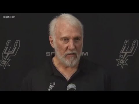 Spurs coach Gregg Popovich, addressing George Floyd protests ...