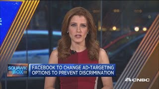 Facebook to change its ad-targeting options to prevent discrimination