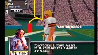 Madden 64 Full Game - San Francisco vs Miami (N64/Hardware)