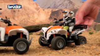 Jeep, ATV Bruder. coches de juguete para niños