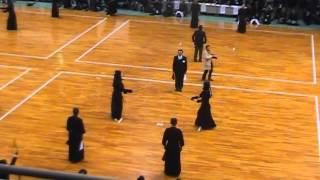 追手門学院大学剣道部ОB戦の動画 2014年12月14日に行われたも...