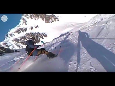 [VIDEO 360°] Freeride World Tour : le run d'Aurélien Ducroz et Markus Eder, à Chamonix