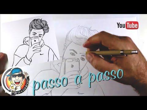 Como Desenhar Garoto Estilo Tumblr Passo A Passo Youtube