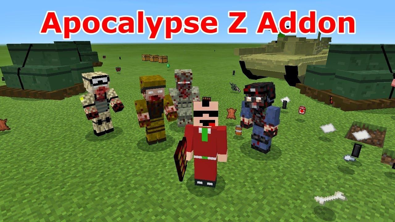 SpaghettiJet's ApocalypseZ - World War Z in Minecraft