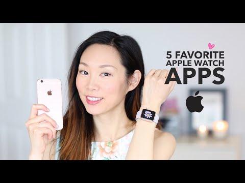 5 Best Apple Watch Apps ♥ My Favorites | Angel Wong