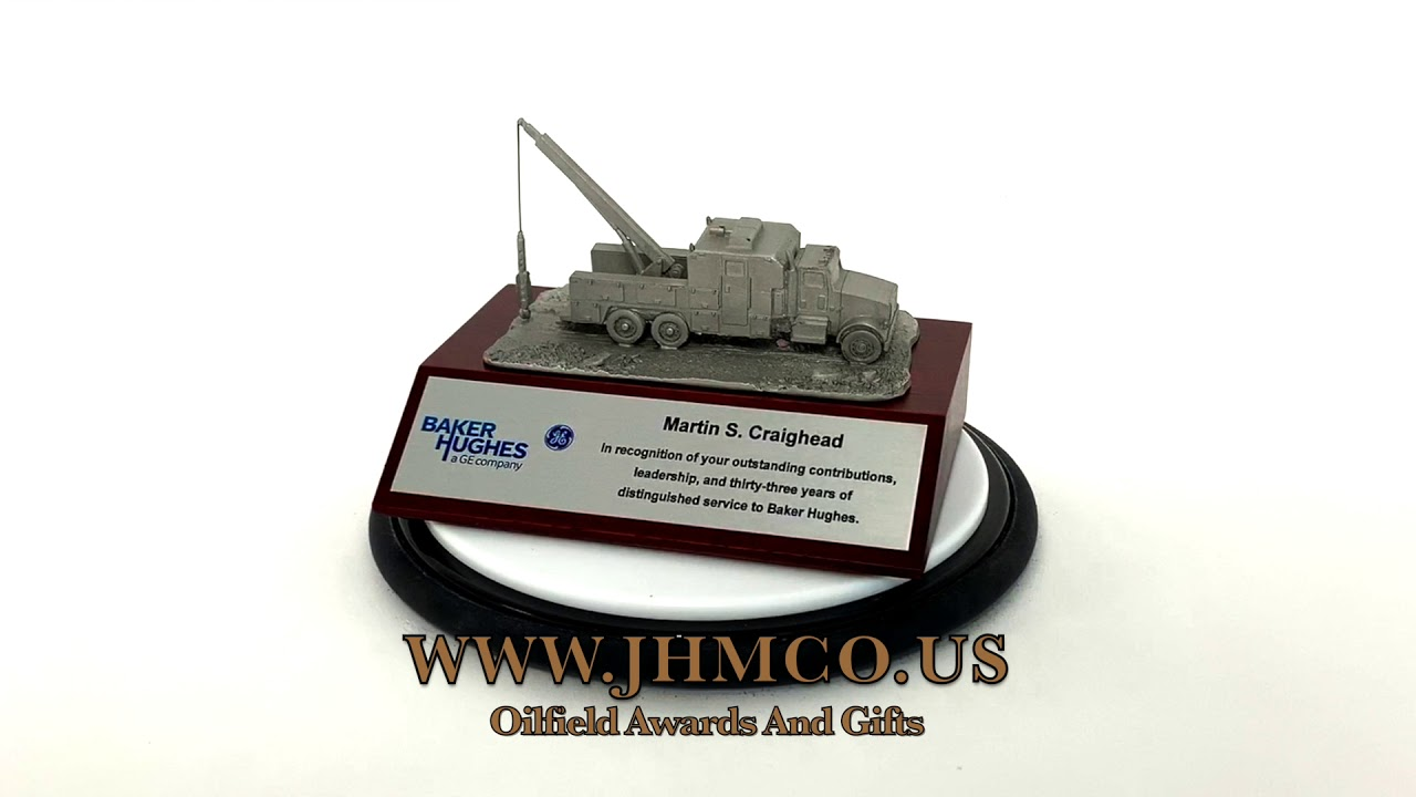 Oil and Gas Gifts Awards Well Service Rig Models