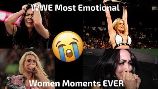 WWE Most Emotional Women\'s Moments EVER (This will make you cry)