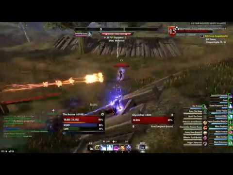 Eso magblade dps test 57 7k wolfhunter by jraw