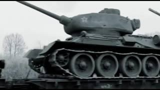 Т-34  Откопали и завели