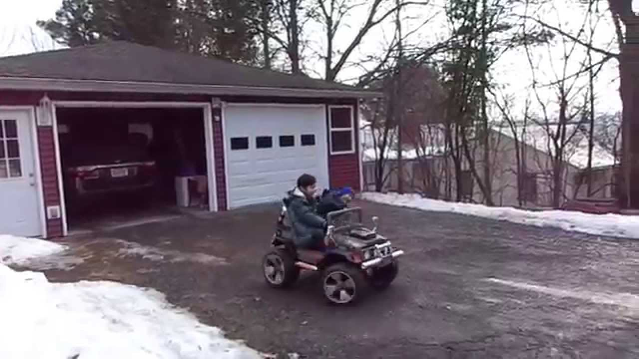 Peg Perego Superpower Gaucho 24 Volt Jeep Ethan Gives Lucian A Modified Power Wheels Need Help Driving Lesson