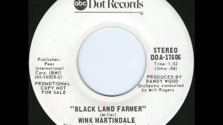 Wink Martindale - Black Land Farmer