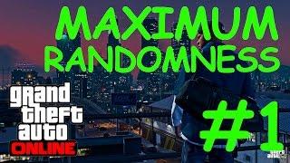 Maximum Randomness Part 1 - GTA Online Gameplay mit Daniel, Seb und Markus (deutsch /german)