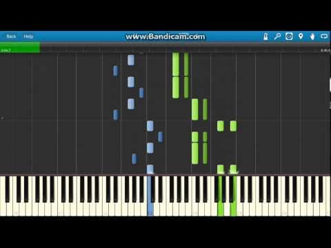 Prokofiev - Peter And The Wolf  piano (Synthesia)