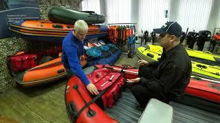 Видео обзор носовой сумки-рундук ivlerboat для лодок ПВХ