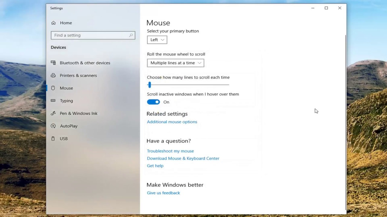 How to Adjust DPI Settings On A Mouse Sensitivity In Windows 10 [Tutorial]