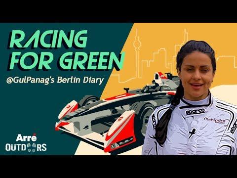 The Final Lap   Racing For Green   Gul Panag's Berlin Diaries