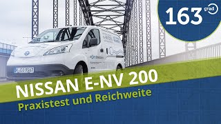 2015 Nissan e-NV200 Lieferwagen mit Elektroantrieb Fahrbericht Praxistest Reichweite eNV200 #163Grad