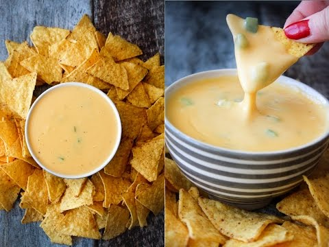 How To Make Nacho Cheese Dip - Fast Food Friday - By One Kitchen Episode 822