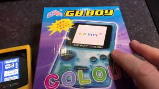 Kong Feng GB Boy Colour - Nintendo Gameboy Chinese Close Knock off! Is it any good?