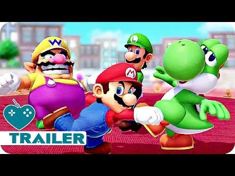 Super Mario Party Trailer E3 2018 (2018) Nintendo Switch Game