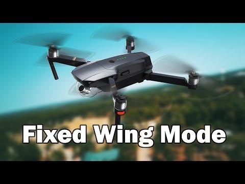 Fixed Wing Mode - DJI Mavic Pro