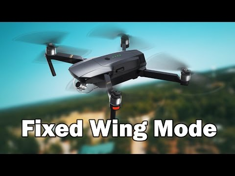 Fixed Wing Mode - DJI Mavic Pro