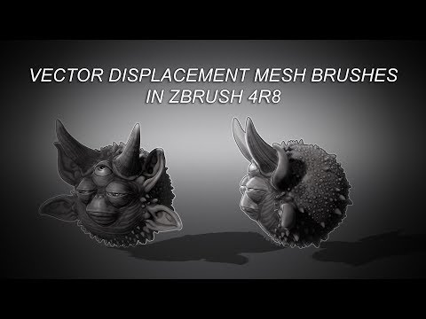Vector Displacement Mesh Brushes In Zbrush 4R8