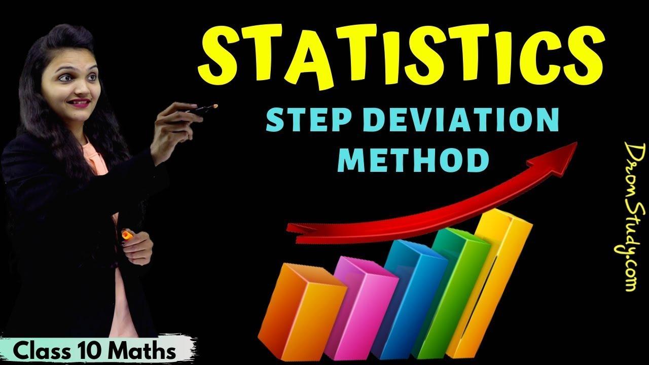 Statistics | Step Deviation Method | Class 10 Maths | CBSE | NCERT