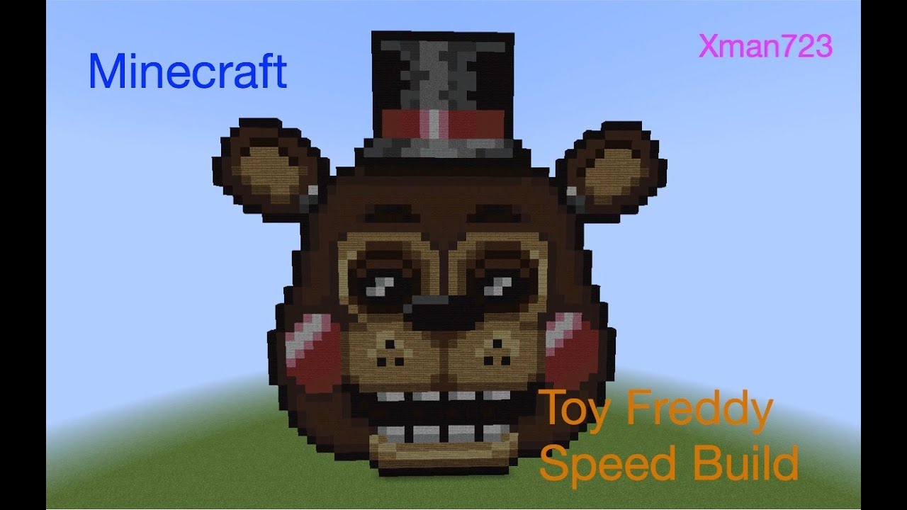 Minecraft Toy Freddy : Minecraft speed build toy freddy fnaf youtube