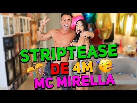 STRIPTEASE DE 4 MILHOES COM MC MIRELLA | #HottelMazzafera