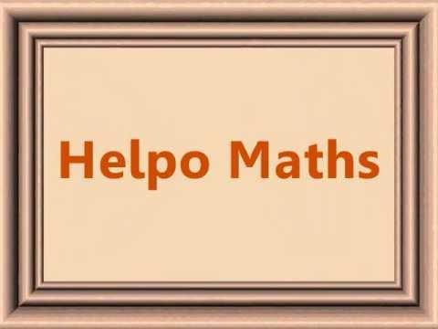 1 an Helpo Maths