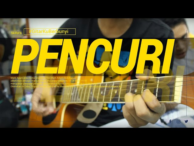 Mark Adam - Pencuri  (Skifot's Music acoustic cover) Travel Video