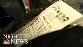 Lottery Jackpots Top $749 Million | NBC Nightly News
