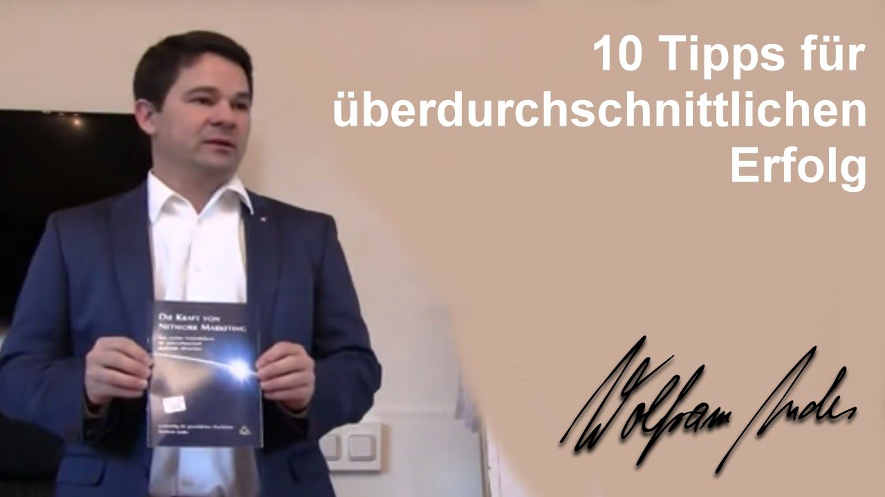 erfolgreich werden 10 tipps f r berdurchschnittlichen erfolg wolfram andes coaching youtube. Black Bedroom Furniture Sets. Home Design Ideas